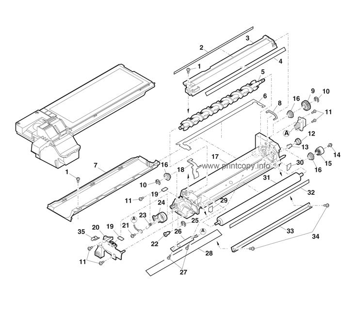 Parts Catalog > Toshiba > e-Studio 150 > page 20