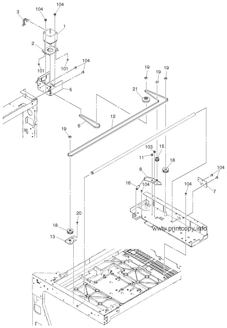 Parts Catalog > Toshiba > e-Studio 163 > page 10