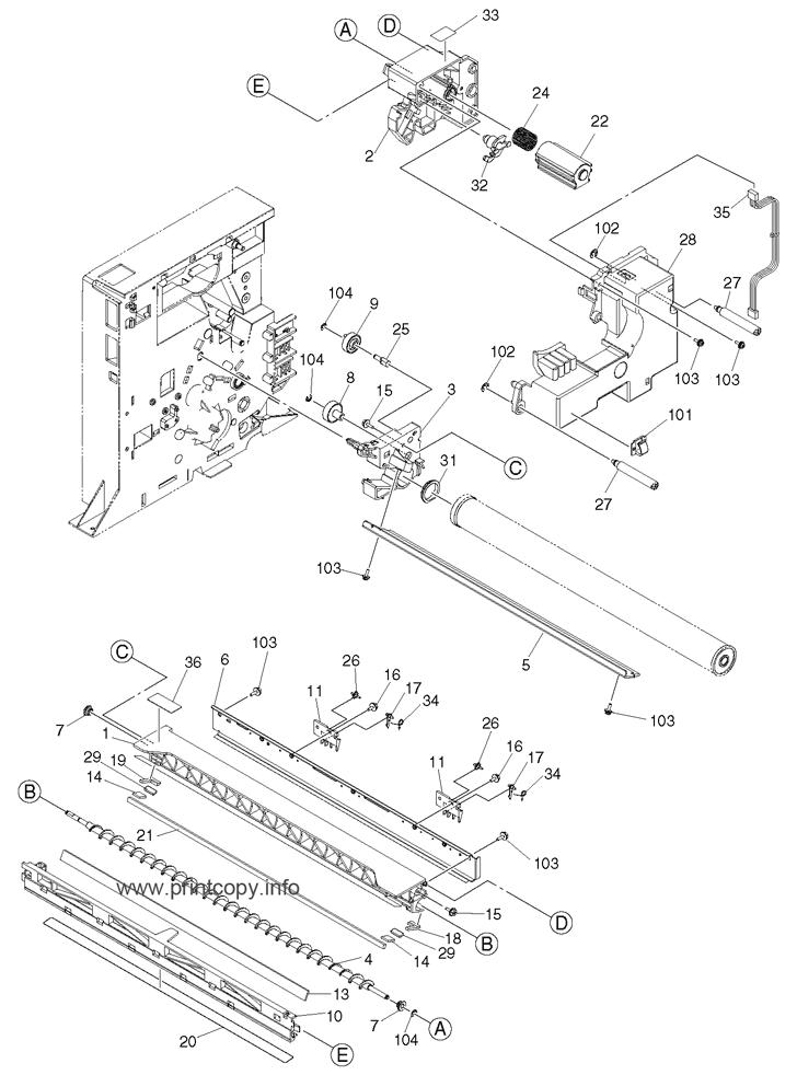 Parts Catalog > Toshiba > e-Studio 203 > page 20