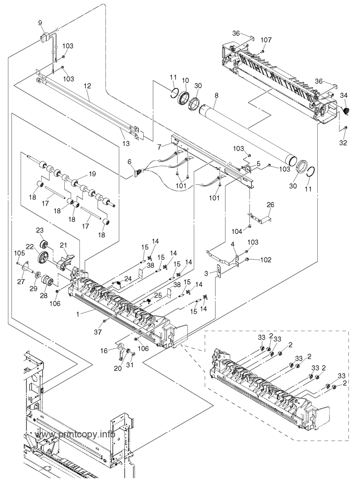 Parts Catalog > Toshiba > e-Studio 203 > page 23