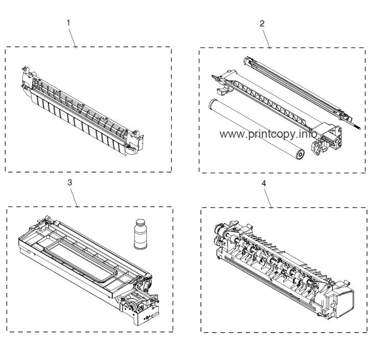 Parts Catalog > Toshiba > e-Studio 163 > page 27