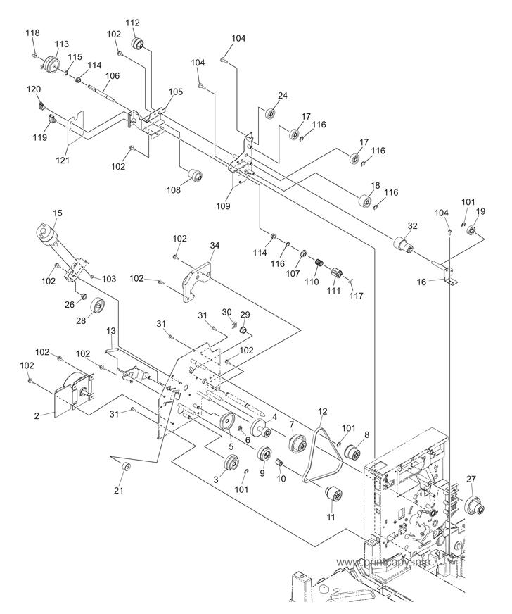 Parts Catalog > Toshiba > e-Studio 195 > page 12