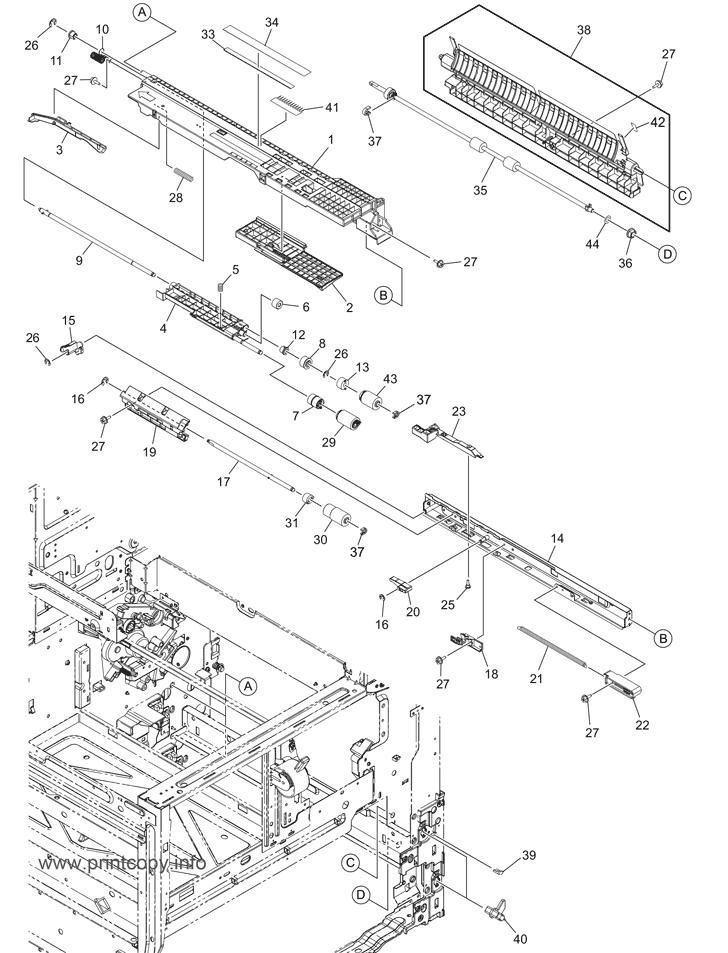 Parts Catalog > Toshiba > e-Studio 4508A > page 16