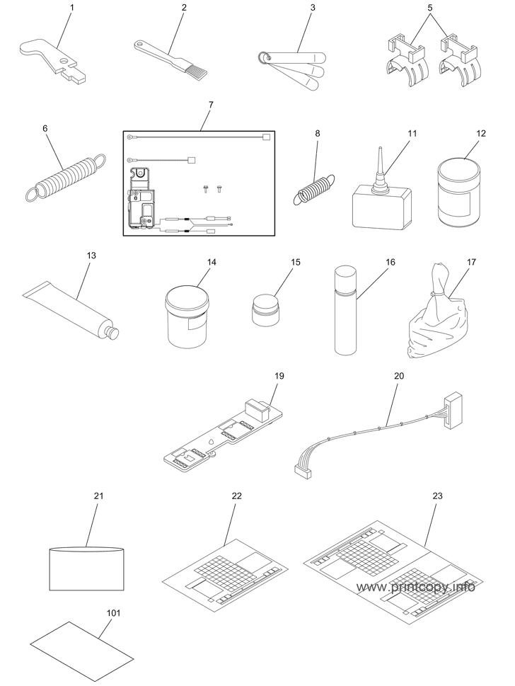 Parts Catalog > Toshiba > e-Studio 2508A > page 40
