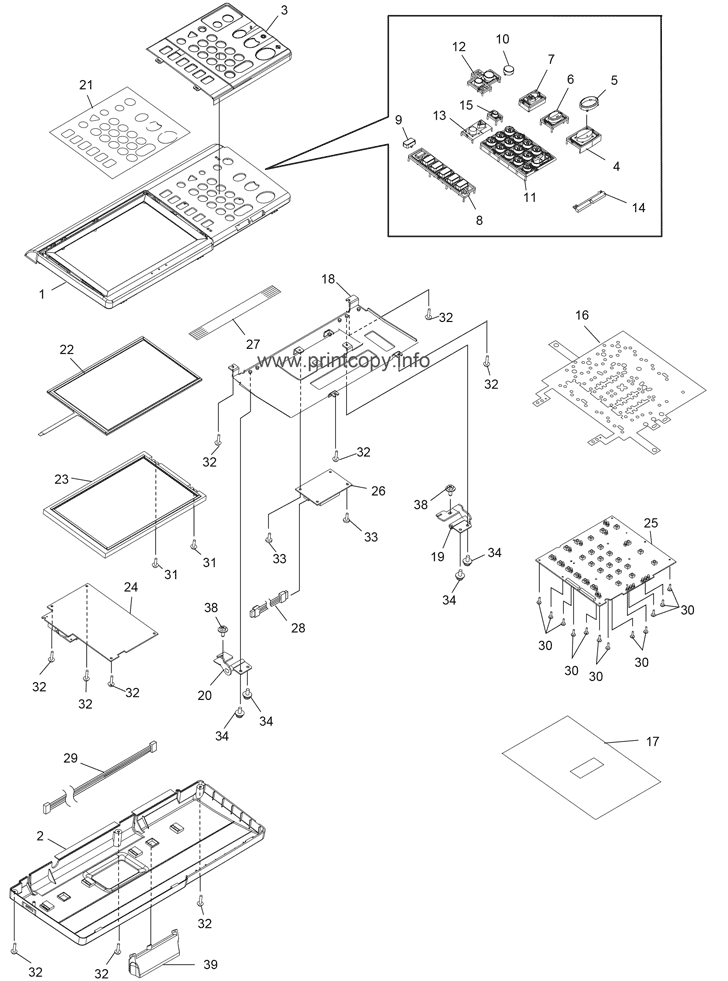 Parts Catalog > Toshiba > e-Studio 2020c > page 3