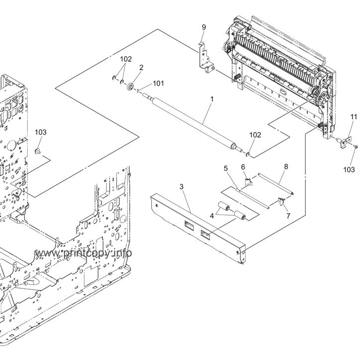 Parts Catalog > Toshiba > e-Studio 2820c > page 14