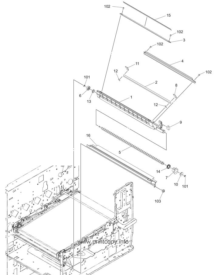 Parts Catalog > Toshiba > e-Studio 2820c > page 35