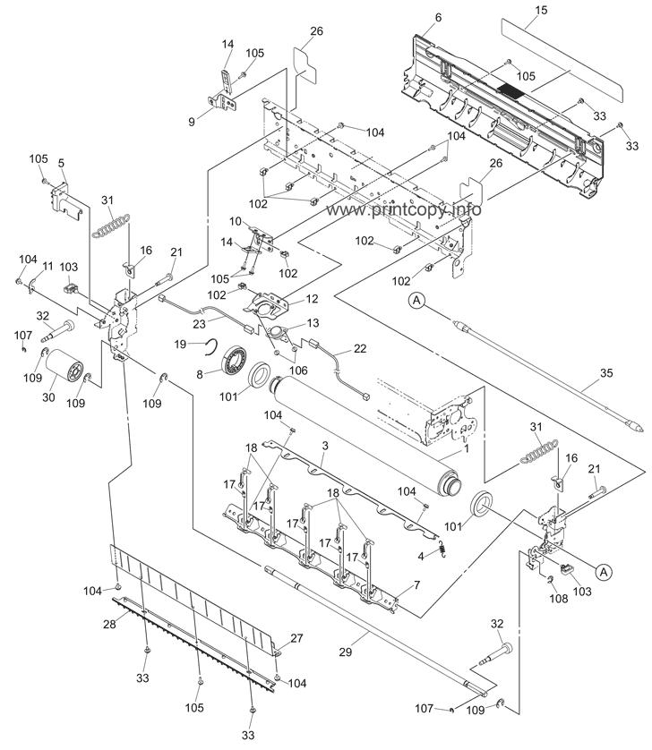 Parts Catalog > Toshiba > e-Studio 2330c > page 44