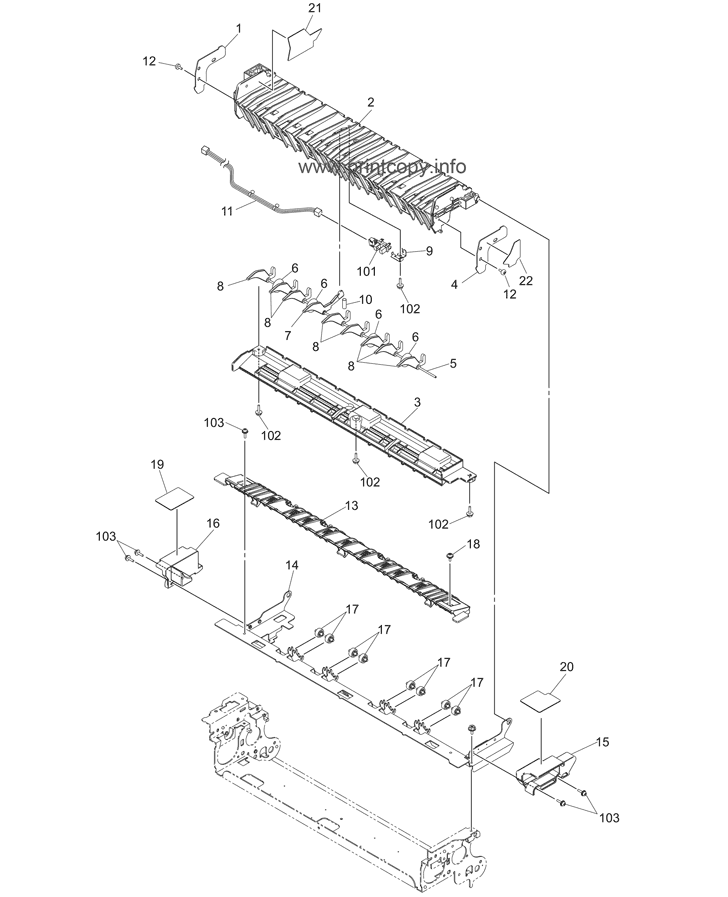 Parts Catalog > Toshiba > e-Studio 2330c > page 45