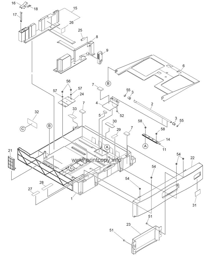 Parts Catalog > Toshiba > e-Studio 2330c > page 50
