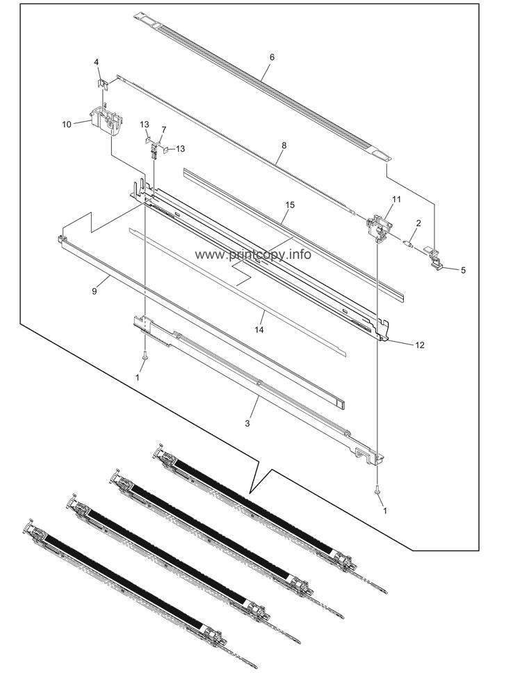 Parts Catalog > Toshiba > e-Studio 2050c > page 35