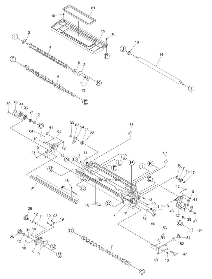 Parts Catalog > Toshiba > e-Studio 243 > page 21