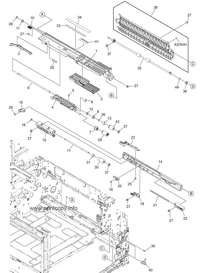 Parts Catalog > Toshiba > e-Studio 3005AC > page 23