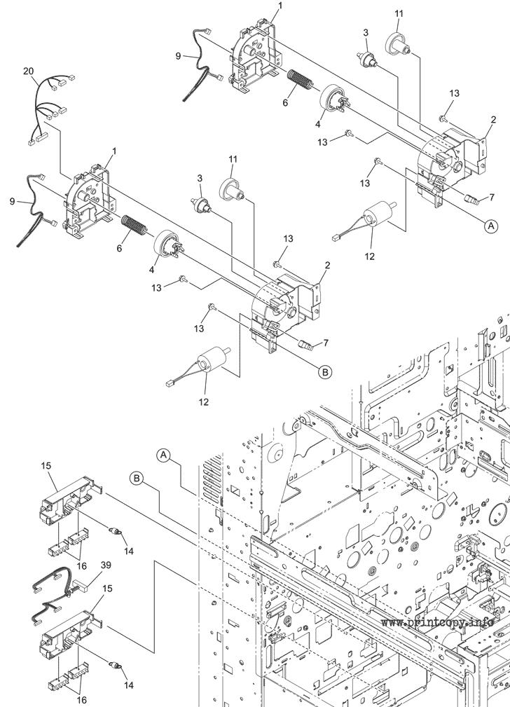 Parts Catalog > Toshiba > e-Studio 5015AC > page 45
