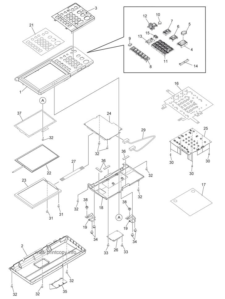 Parts Catalog > Toshiba > e-Studio 355 > page 3