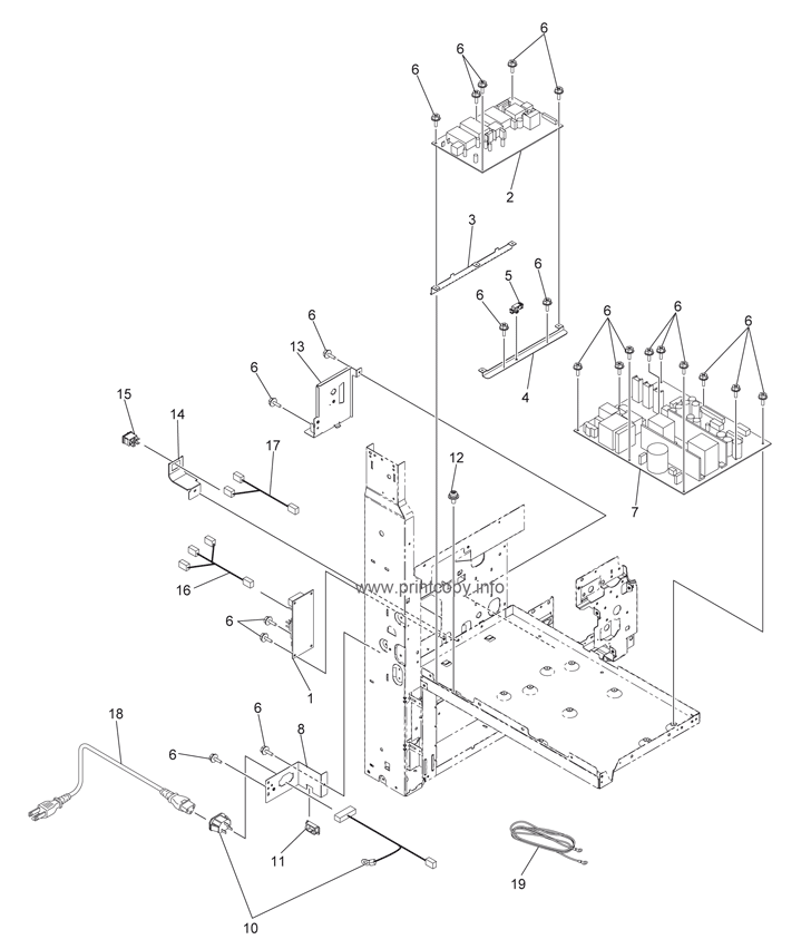Parts Catalog > Toshiba > e-Studio 355 > page 10