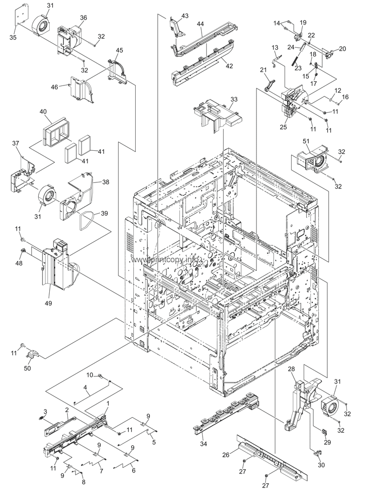 Parts Catalog > Toshiba > e-Studio 2555c > page 7