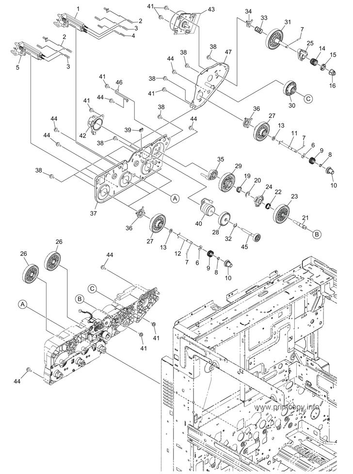 Parts Catalog > Toshiba > e-Studio 3555c > page 15