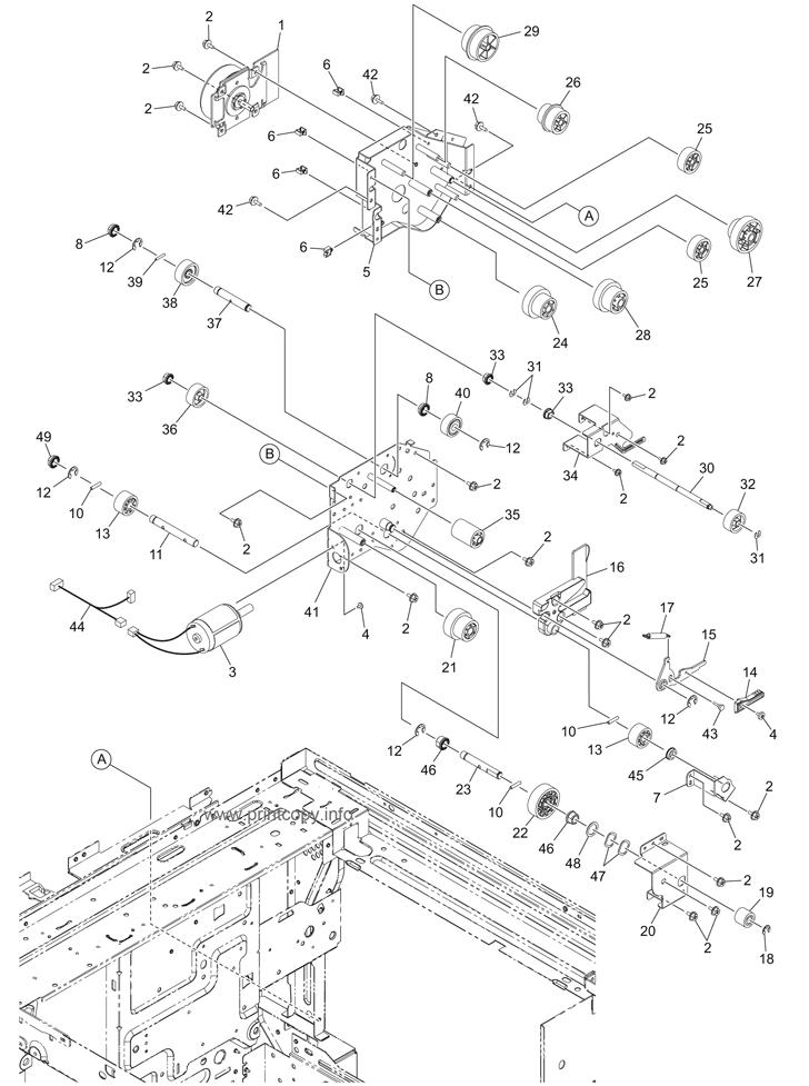 Parts Catalog > Toshiba > e-Studio 3055c > page 18