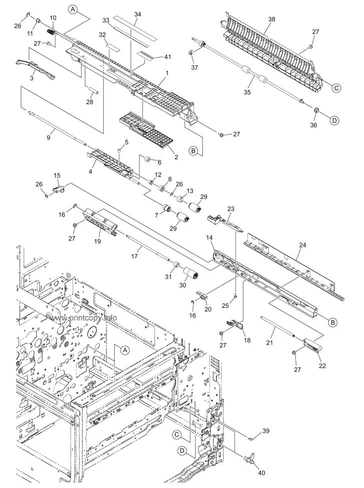 Parts Catalog > Toshiba > e-Studio 3055c > page 23