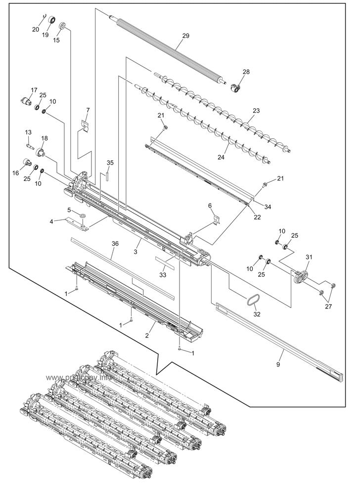 Parts Catalog > Toshiba > e-Studio 3055c > page 33