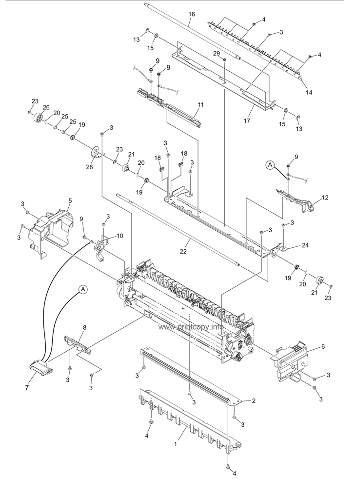 Parts Catalog > Toshiba > e-Studio 3055c > page 37