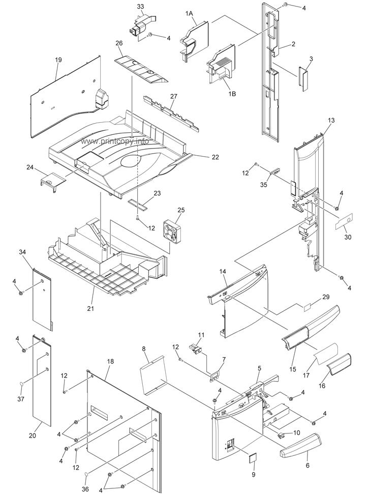 Parts Catalog > Toshiba > e-Studio 256 > page 1