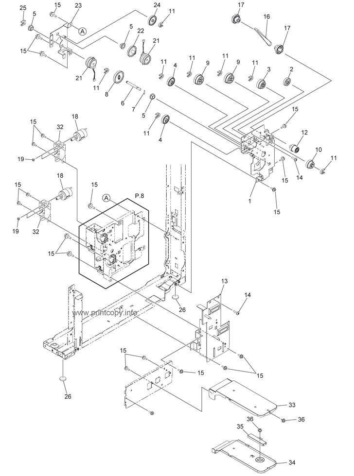 Parts Catalog > Toshiba > e-Studio 356 > page 7