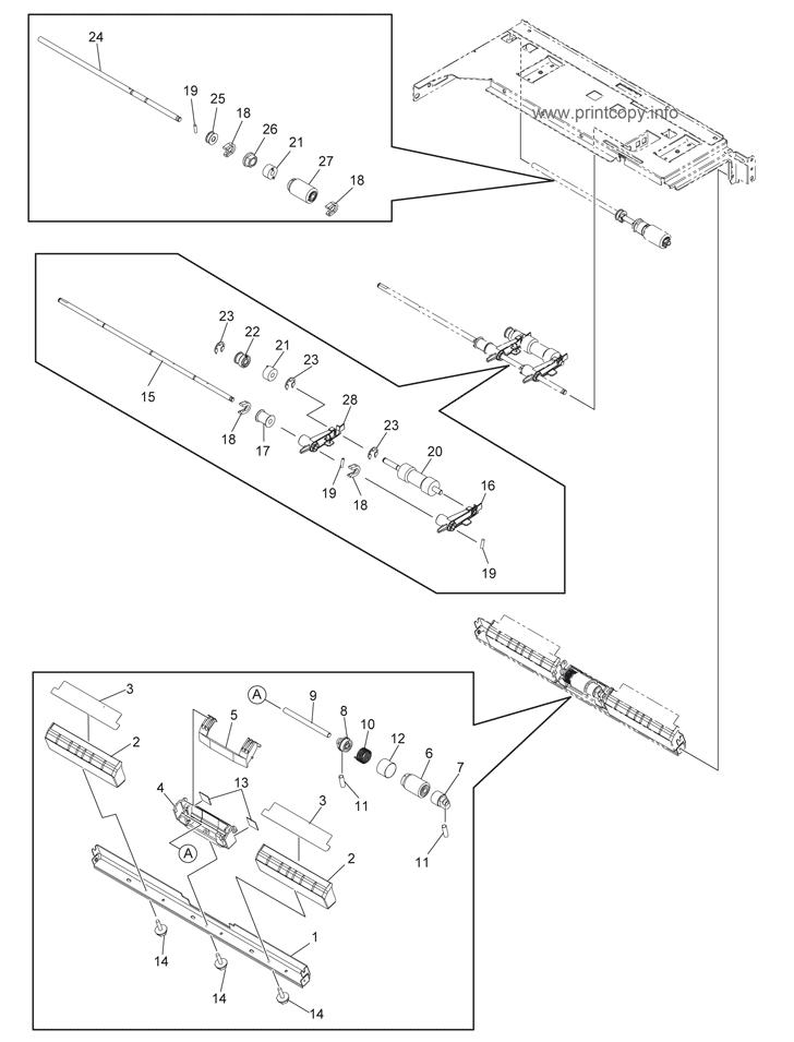 Parts Catalog > Toshiba > e-Studio 256 > page 17
