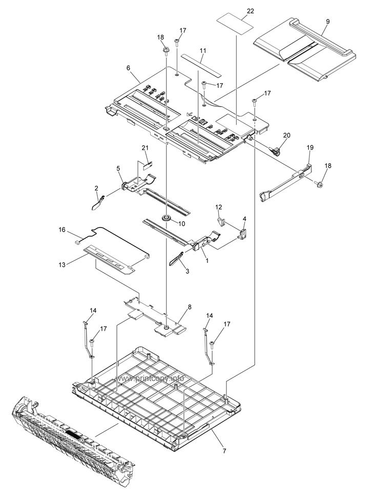 Parts Catalog > Toshiba > e-Studio 256 > page 19