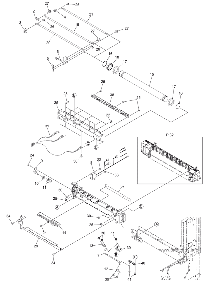 Parts Catalog > Toshiba > e-Studio 256 > page 31