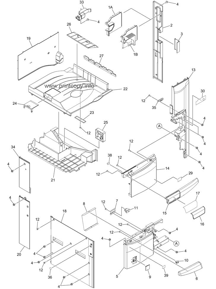 Parts Catalog > Toshiba > e-Studio 457 > page 1