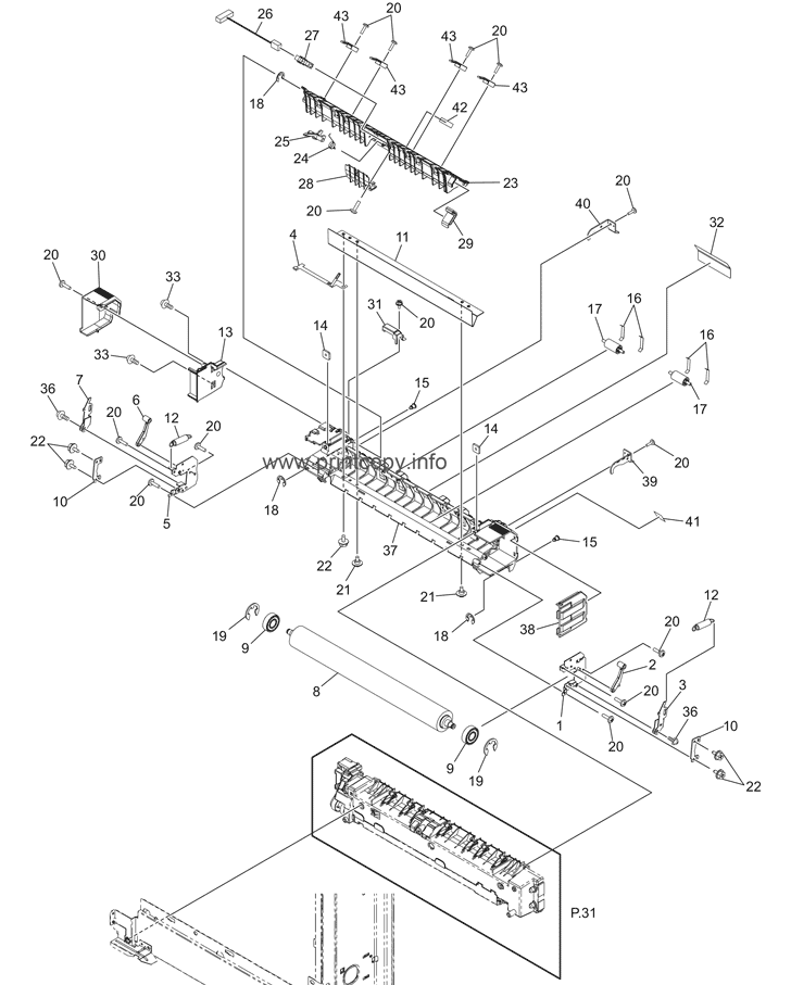 Parts Catalog > Toshiba > e-Studio 457 > page 32