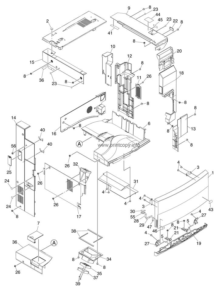 Parts Catalog > Toshiba > e-Studio 281c > page 1