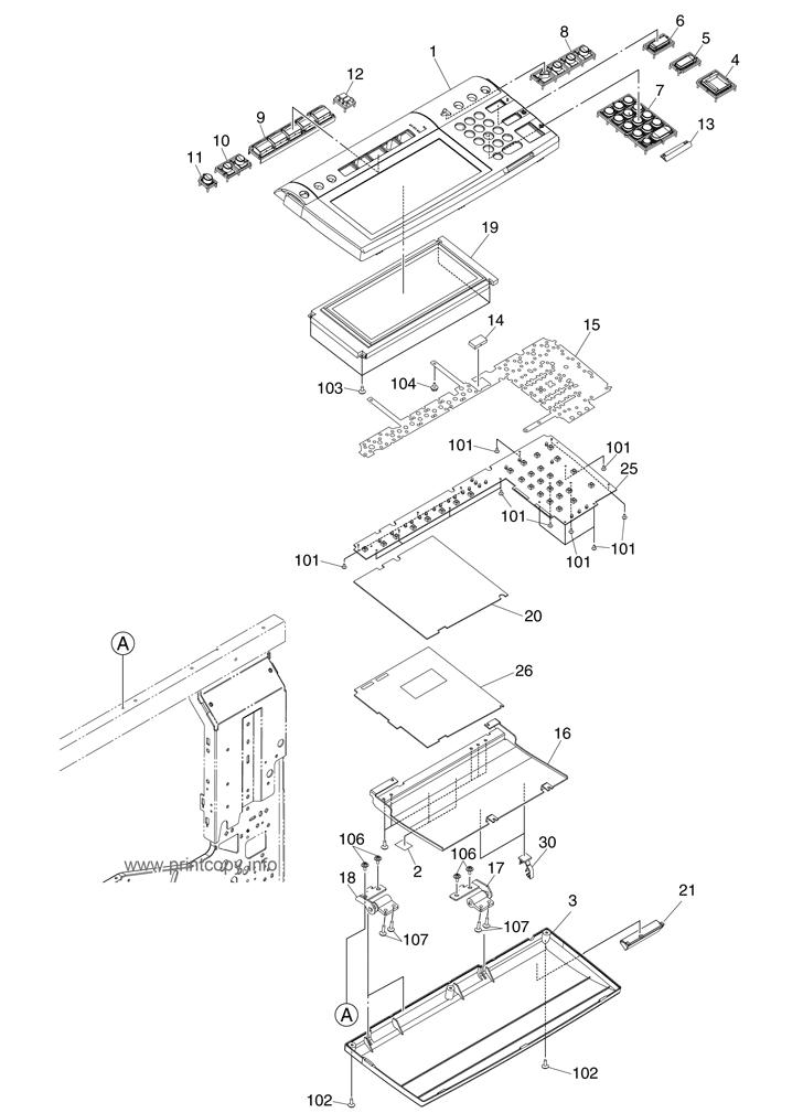 Parts Catalog > Toshiba > e-Studio 281c > page 3