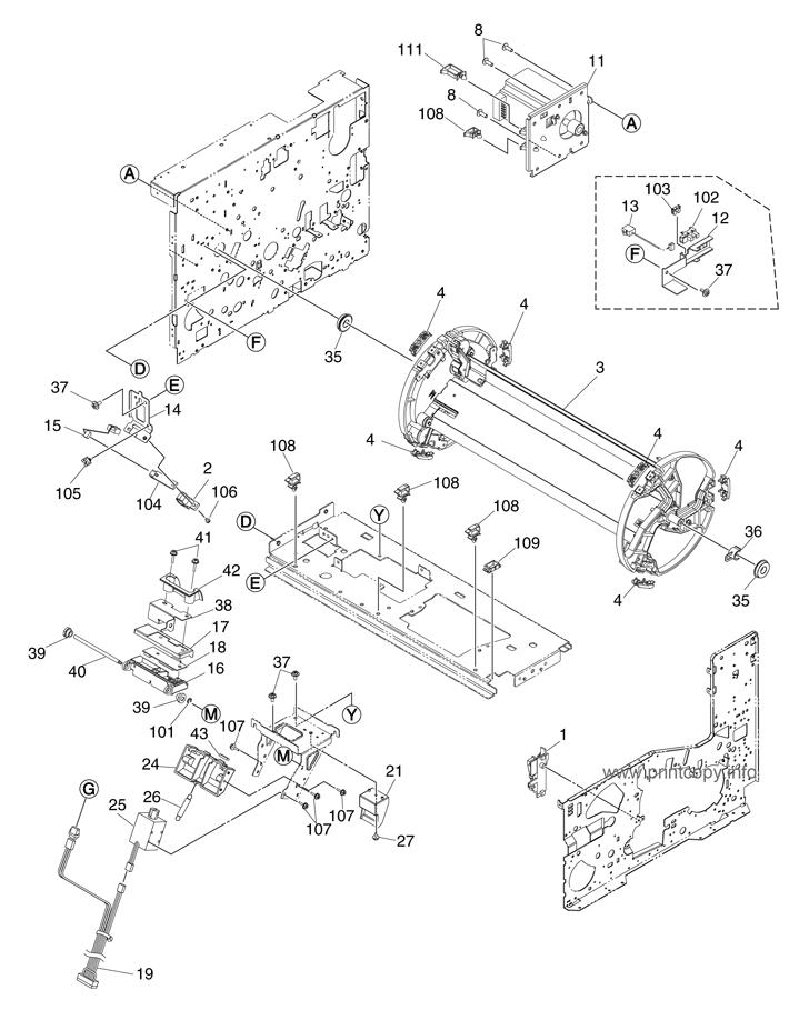 Parts Catalog > Toshiba > e-Studio 351c > page 36