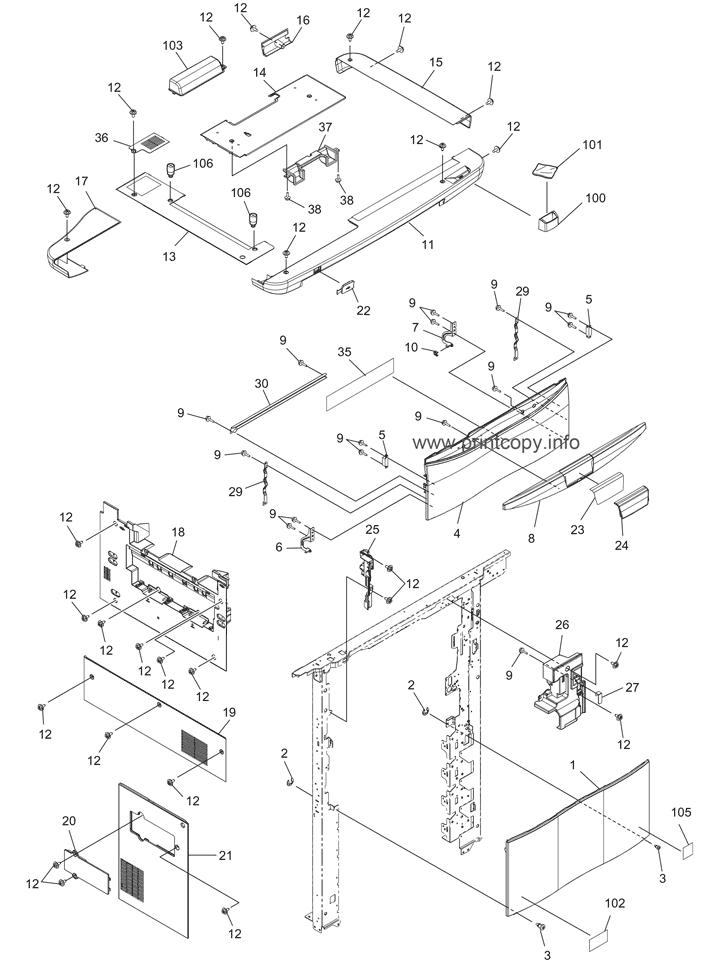 Parts Catalog > Toshiba > e-Studio 5520C > page 1