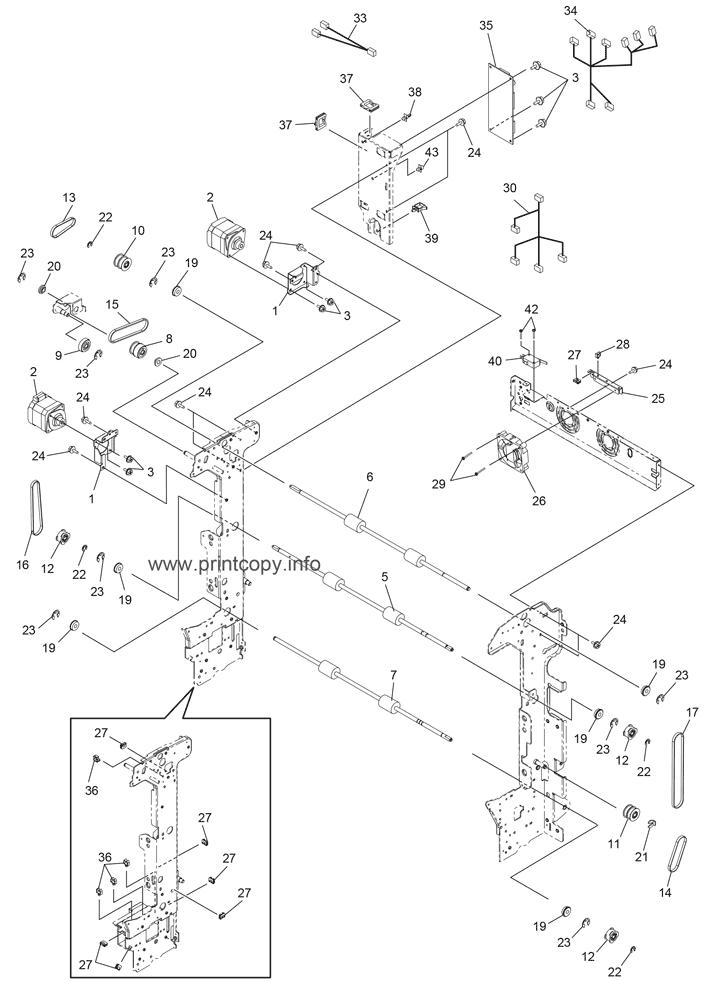 Parts Catalog > Toshiba > e-Studio 6540C > page 18