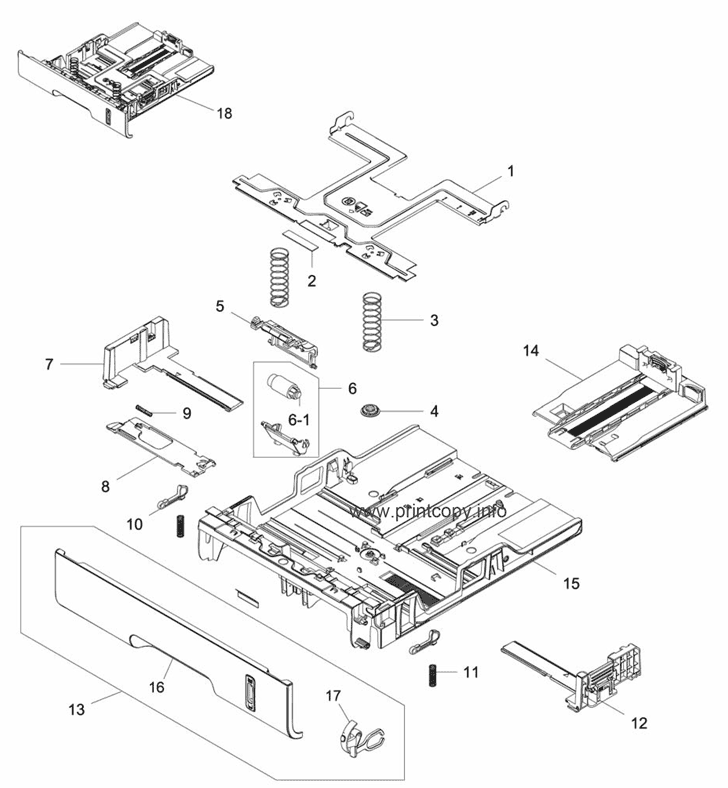 Parts Catalog > Xerox > Phaser 3260 > page 13