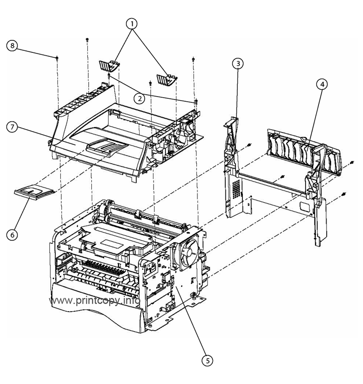 Parts Catalog > Xerox > Phaser 3100 MFP > page 3