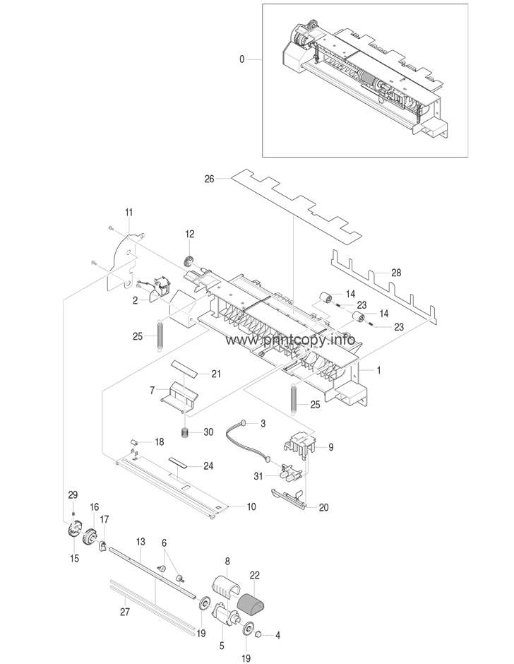 Parts Catalog > Xerox > Phaser 3150 > page 3