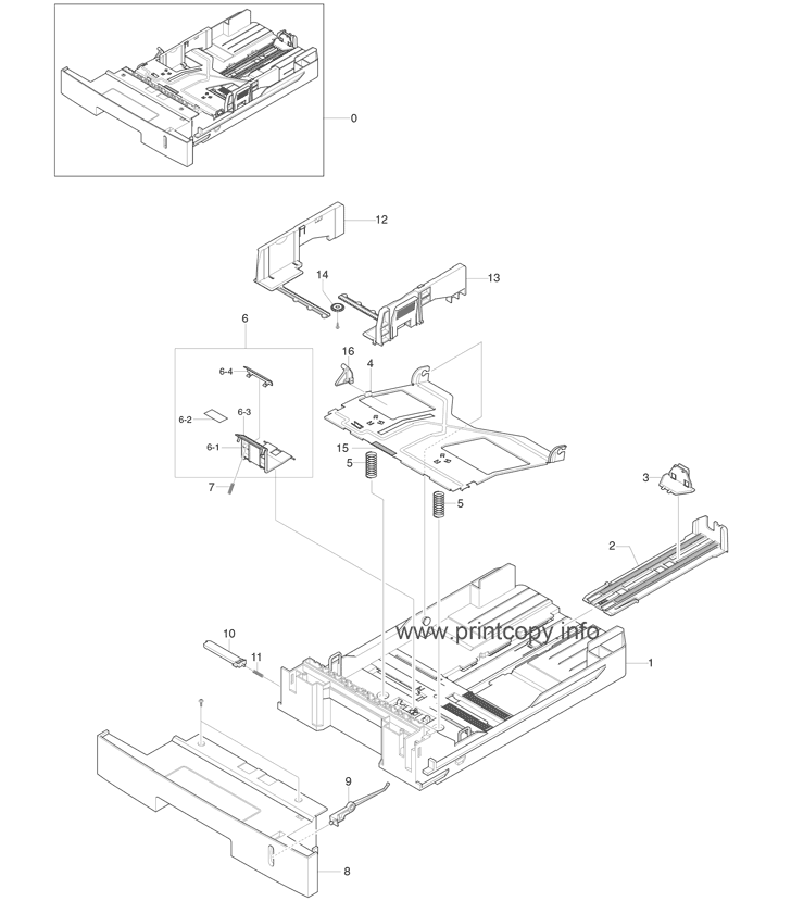Parts Catalog > Xerox > Phaser 3150 > page 6