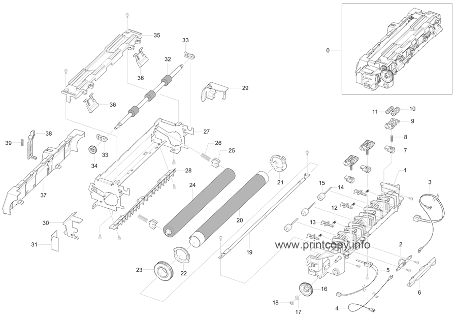 Parts Catalog > Xerox > Phaser 3200 MFP > page 14