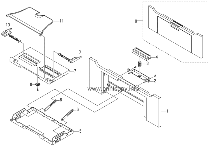 Parts Catalog > Xerox > Phaser 3300 MFP > page 4