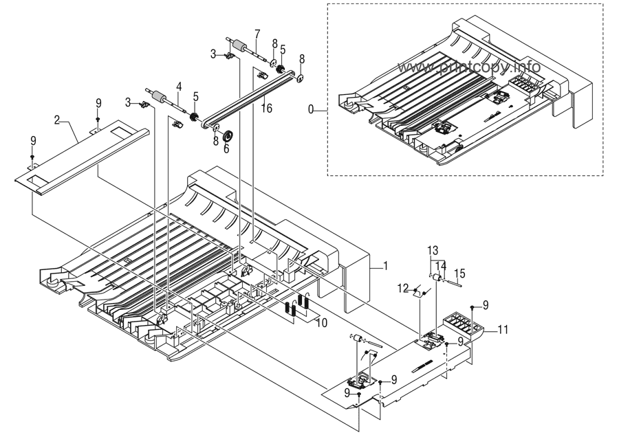 Parts Catalog > Xerox > Phaser 3300 MFP > page 17