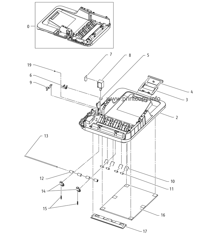 Parts Catalog > Xerox > WorkCentre 3315 > page 22