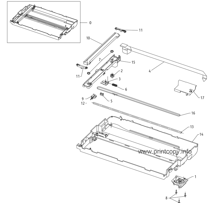 Parts Catalog > Xerox > WorkCentre 3315 > page 27