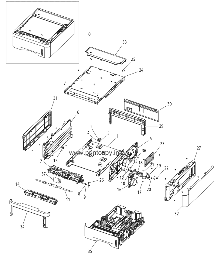Parts Catalog > Xerox > WorkCentre 3315 > page 28