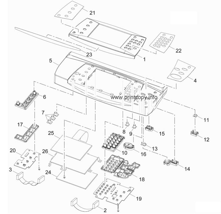 Parts Catalog > Xerox > WorkCentre 3550 > page 3