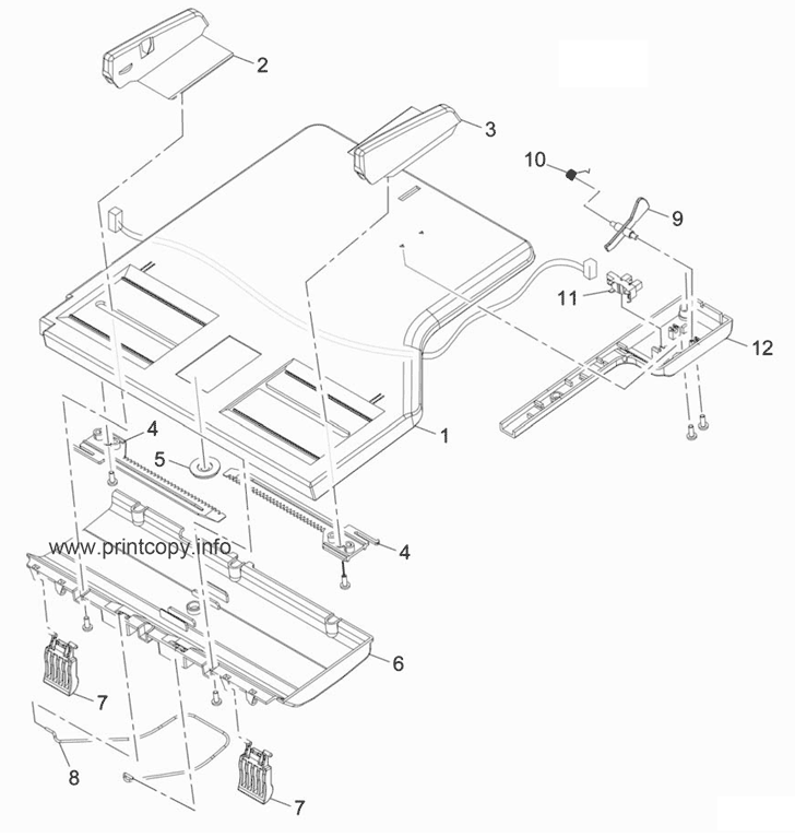 Parts Catalog > Xerox > WorkCentre 3550 > page 8